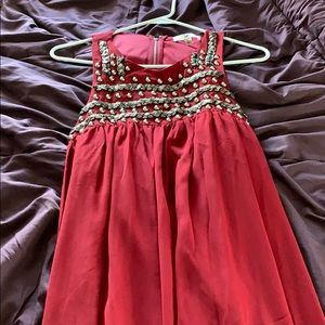 Red Boutique Dress